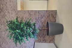 Custom built artificial Ficus benjamina tree.