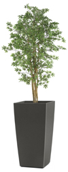 Artificial Green Japanese Maple Tree 7ft